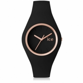 Zegarek ICE glam-Black rose-gold-Medium